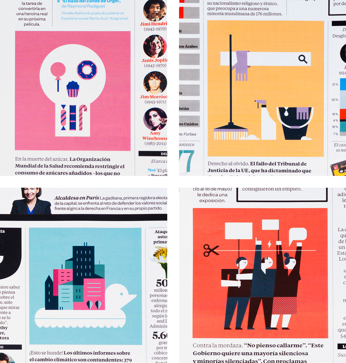 El Pais Semanal illustration